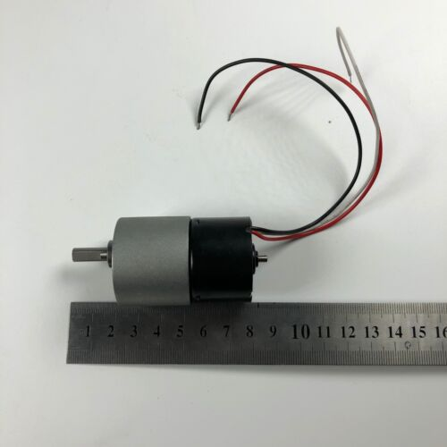 JGB37-3625 12V 6RPM Geared Gearhead Box DC Motor High Torque Output Reversible