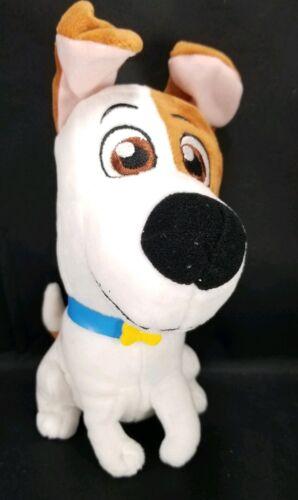 "The Secret Life of Pets 2 Max Puppy Dog Plush Stuffed Animal Toy 8/"""