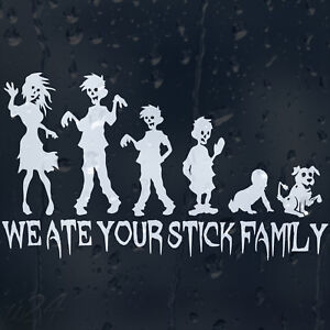 White My Stick Figure Family Car Window Vinyl Stickers Mum to Be F18