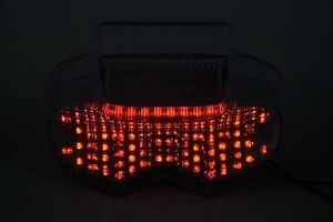 Tail Light LED Smoke with Integrated Turn Signal for Suzuki 2000-2005 Bandit 600