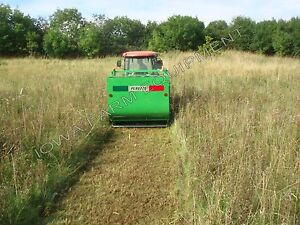 """Flail Collection Mower: Peruzzo Panther 1600, 60""""Cut, 53cu'Cap, Ground Discharge"""