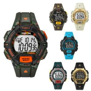 Orologio-TIMEX-IRONMAN-Rugged-30-lap-Digitale-Silicone-Colorato-Militare-Camo