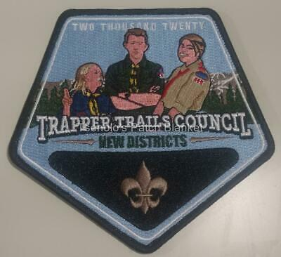 Trapper Trails Council 2017 Camp New Fork Particapant Patch Mint FREE SHIPPING