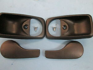 PORSCHE 944 944 TURBO 951 S2 968 INNER DOOR HANDLE AND TRIM NEW ...