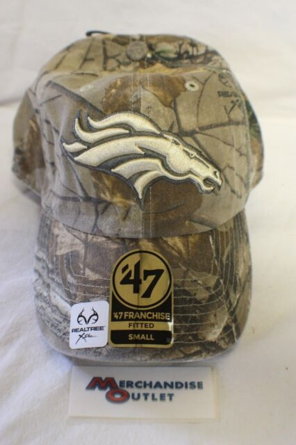 ed30ab36eb2f8 47 BRAND Denver Broncos Franchise Fitted Hat - Realtree Camo S