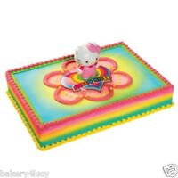 Hello Kitty Light Up Cupcake Cake Kit Topper Party Birthday Decoration Girl