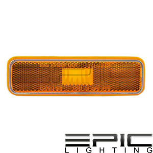 Front Side Marker Light Lamp LH RH Kit Pair Set of 2 for Dodge Plymouth