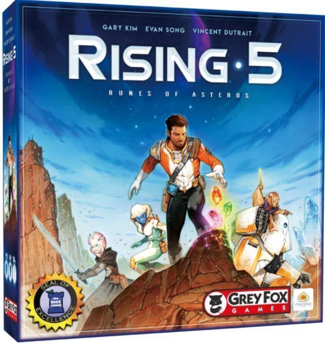 Rising 5 - Runes de Asteros - Jeu de Plateau de Stratégie