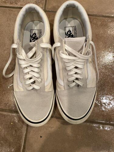 vans old skool 36 Size 10.5 Womens White