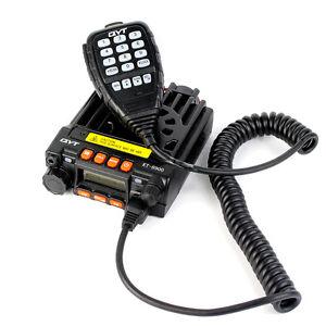 25W-Dual-Band-Mobilfahrzeug-Ham-Radio-UHF-VHF-20W-200CH-M-Handheld-Mic