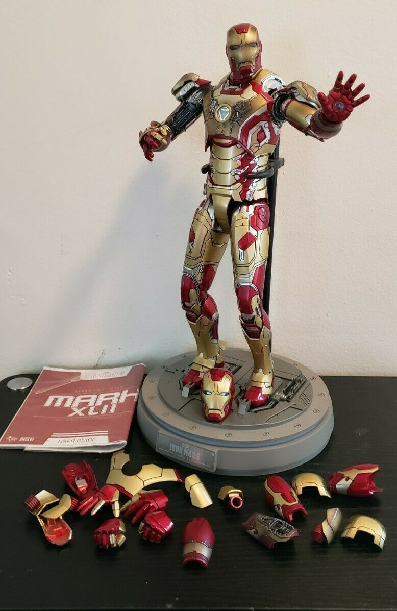 Hot Toys Iron Man 3 Mark 42 XLII MMS 197 Diecast figure on eBay thumbnail