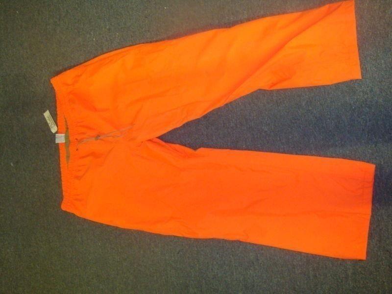 Walls Blaze orange Waterproof Pants 2xl 550110GX   more order