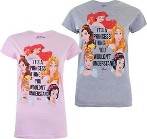 Disney-It-039-s-a-Princess-Thing-Ladies-Womens-T-Shirt-Sizes-S-XL