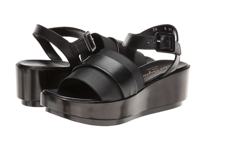 Robert Clergerie Pod Black Platform Sandals, Sandals, Sandals, Size 9.5, EU 40 e3ca70