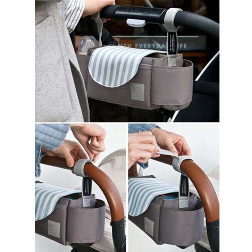 Universal Baby Trolley Storage Bag Stroller Cup Carriage Pram Buggy Organizer vb