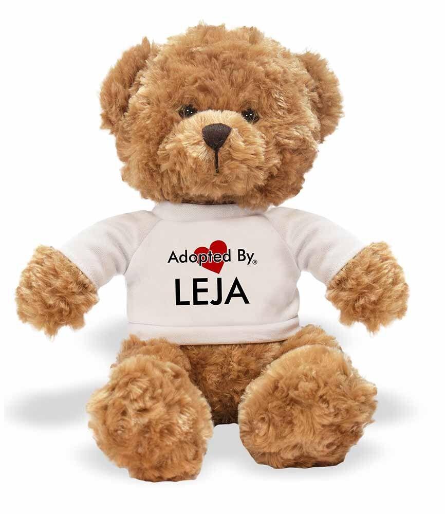 Adoptado por Leja Osito usando un nombre Personalizado T-Shirt, Leja-TB1 Leja-TB1 Leja-TB1 d2f8f4