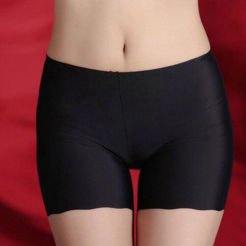 Safety Shorts Women Lady Fashion Pants Leggings Seamless Basic Plain Underwear