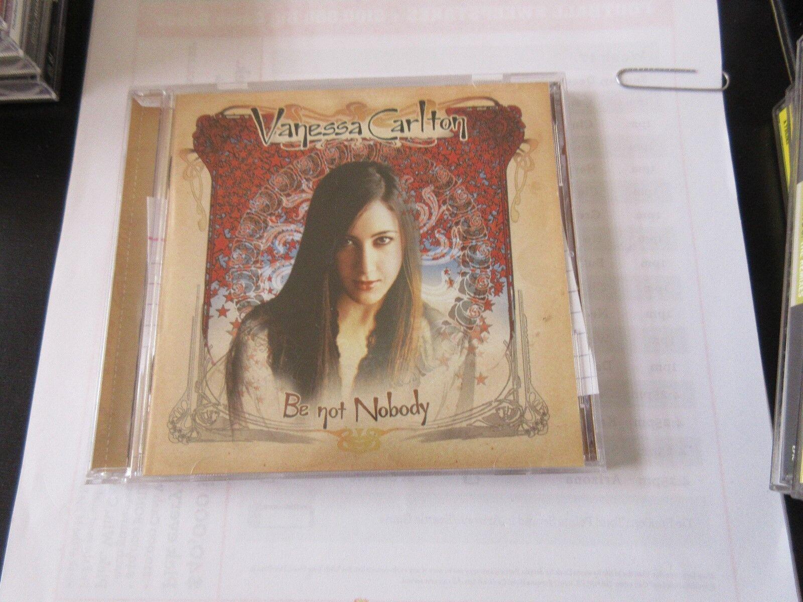 Vanessa Carlton , Be Not Nobody , CD 696554869110