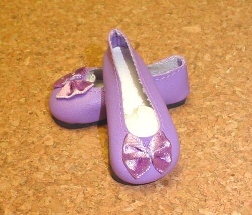 "69mm LT PURPLE Slip-ons for SD* BJDs 18/"" Ann Estelle DOLL Shoes Magic Attic"