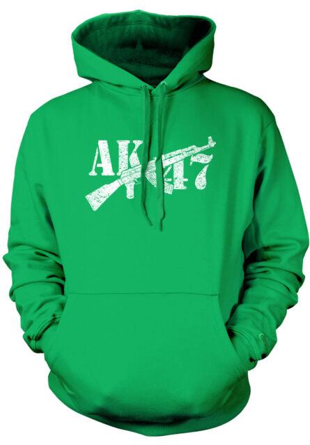 AK-47 Assault Rifle Pro-gun Rights 2nd Second Amendment 2-tone Hoodie Pullover