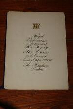 ROYAL COMMAND PERFORMANCE PROGRAMME 1962 ~ CLIFF RICHARD THE SHADOWS BOB HOPE