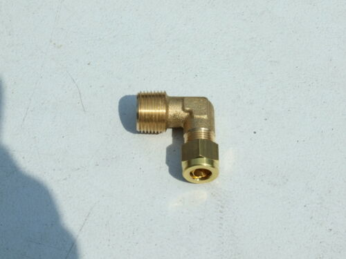 Two Gas manifold test port plugs 3//8 BSP Blank plug stop end motor home boat.