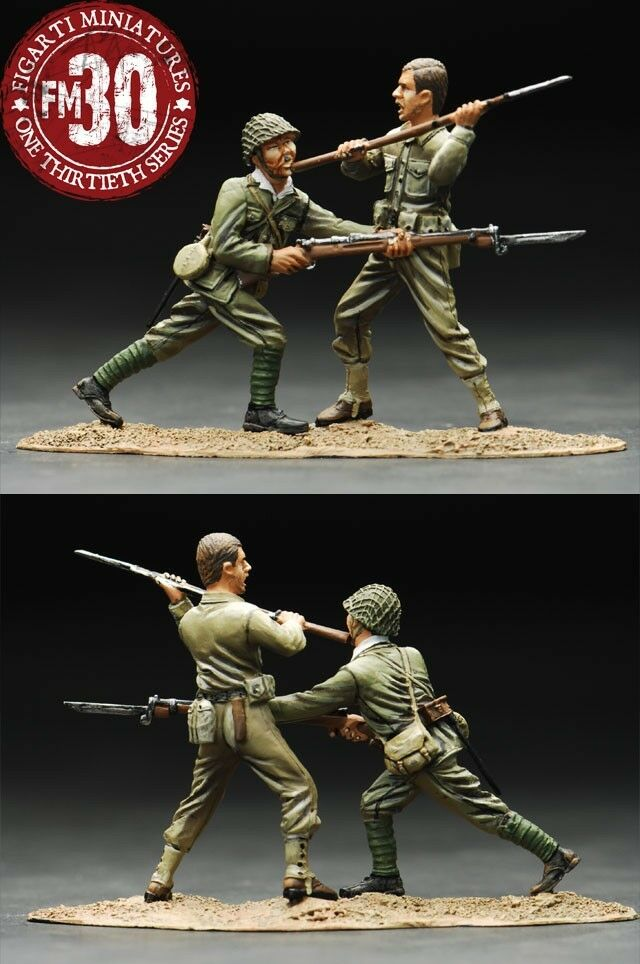 Figarti Miniatures WIJ-005  Chop to Face  -- Wake Island Action Scene