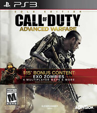 Call of Duty: Advanced Warfare Gold Edition PS3 New PlayStation 3, Playstation 3