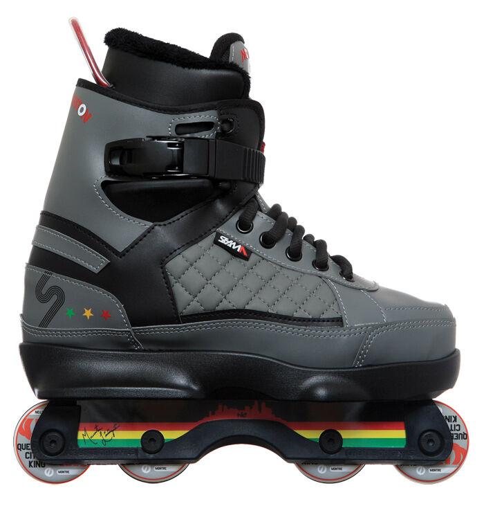 SSM Montre Encore, aggressive skates, complete setup