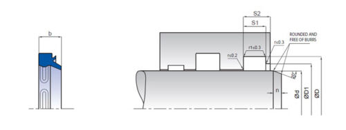 Elija dimensiones Limpiaparabrisas K05 PU ID16mm-200mm = PU5 Pack