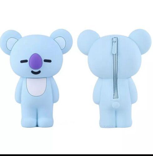 BTS Koya BT21 Pencil Case Blue Koala Cute Kawaii