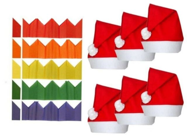 1000 Wholesale Tissue Paper Cracker Hats - BULK Buy ...