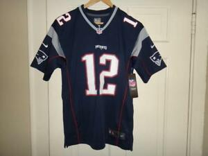 090575c3 Details about Youth Nike New England Patriots #12 Tom Brady NFL Team Color  Game Jersey