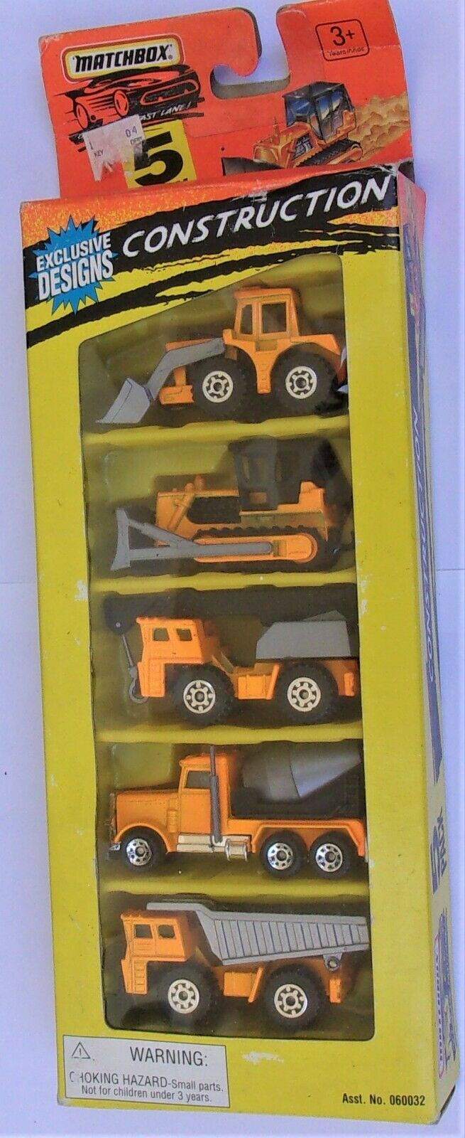 Matchbox  Exclusive Designs  Construction Set   RARE  New in Box  1995