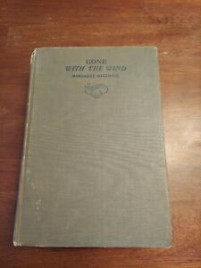 Gone with the Wind book First Edition Feb printing 1st - 1937 Margaret Mitchell