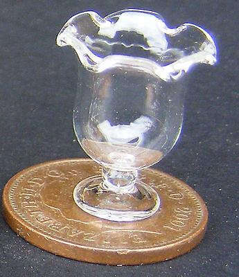1:12 Scale Glass Ice Cream Sundae Bowl Tumdee Dolls House Miniature Dessert Sg5