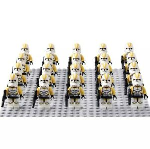 20x-212th-Yellow-Clone-Troopers-Mini-Figures-LEGO-STAR-WARS-Compatible