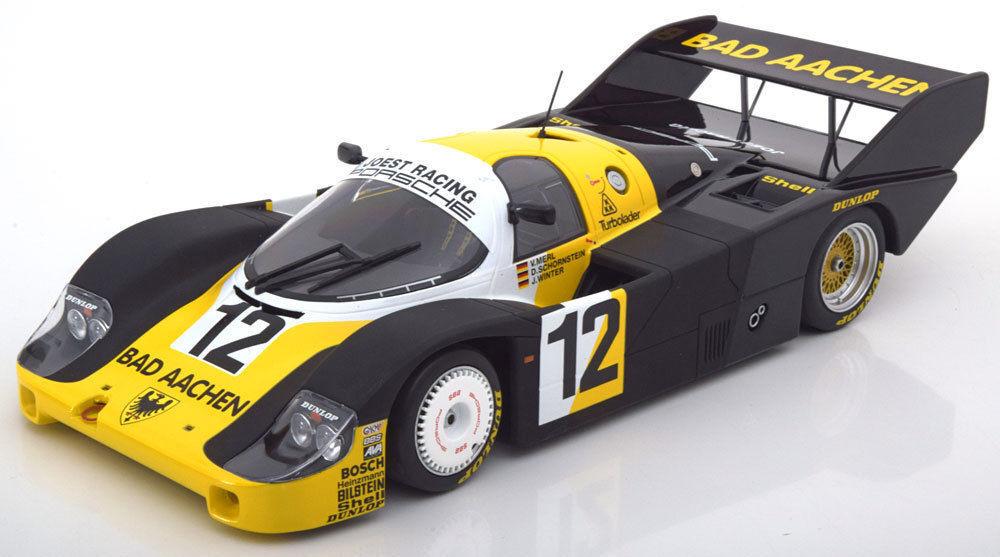 MINICHAMPS 1984 PORSCHE 956K BAD AACHEN 1000 Km Monza  12 1 18New objet