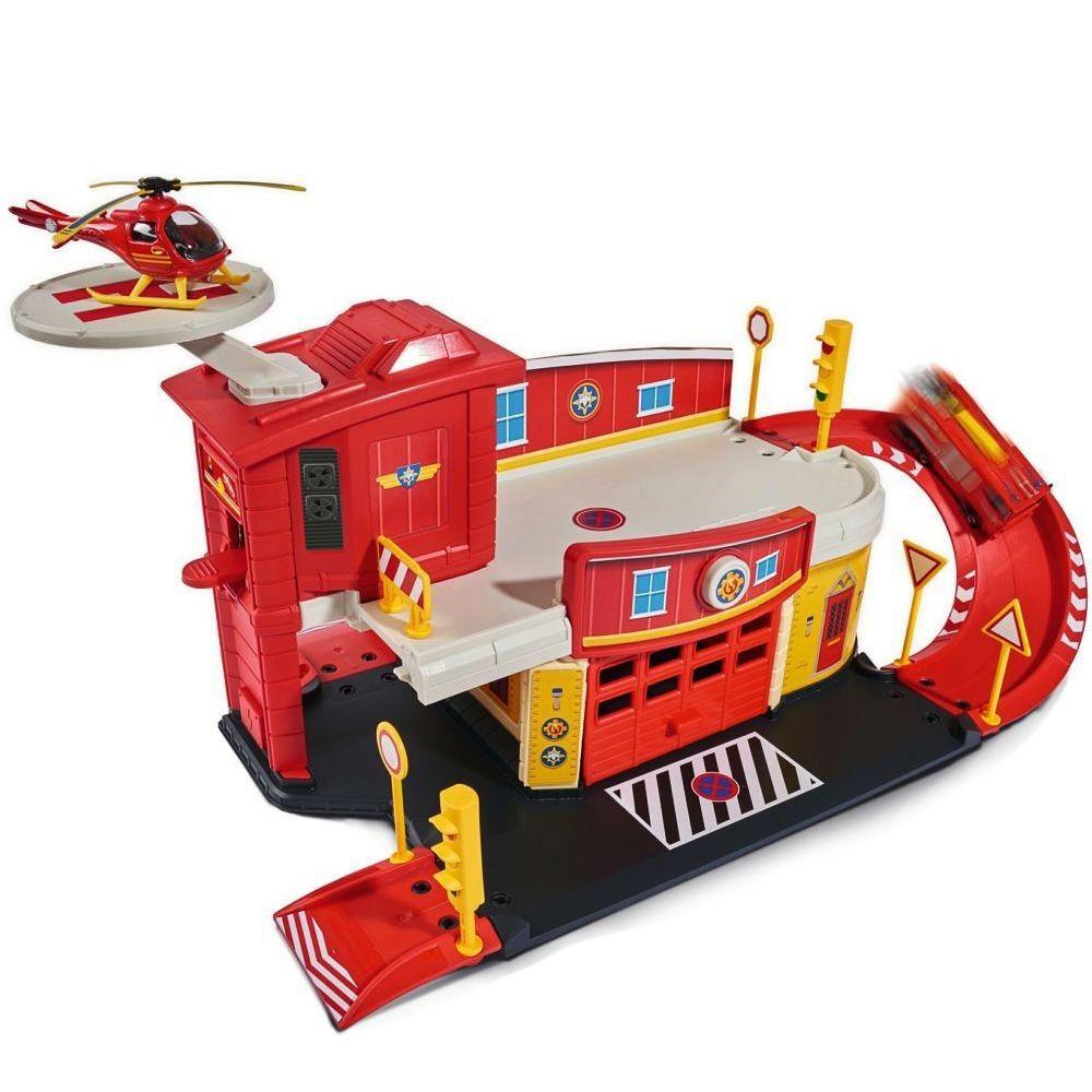 Set Fire Rescue Centre   Play Set   The Cast Mini Series   Fireman Sam