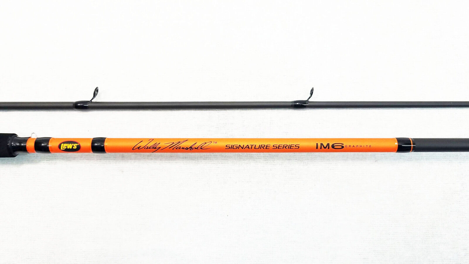 NEW LEW'S WALLY MARSHALL SIGNATURE SERIES 12' CRAPPIE POLE ROD, WMSO122, 2 PIECE