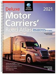 Rand-McNally-2021-Deluxe-Motor-Carriers-039-Road-Atlas