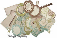 Heirloom Collectables Collection Scrapbooking 50 Die Cuts Kaisercraft
