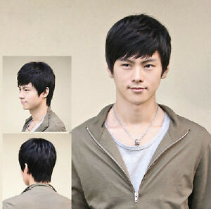 Men-s-handsome-short-full-wig-wigs-hairpiece-toupee-100-real-natural-human-hair