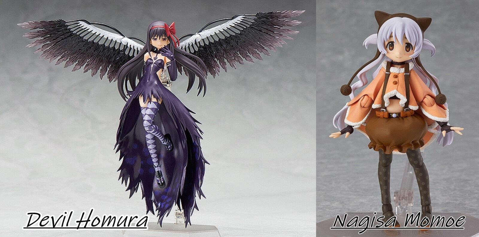 Figma Devil  Homura Puella Magi Madoka Magica The Movie   Rebellion Nagisa Momoe  più economico