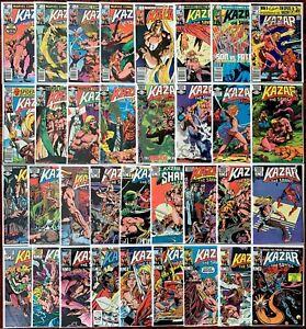 Kazar The Savage #1-34 Complete Series  (1981-1984) Marvel Savage Land.