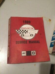 1989-GM-Chevrolet-Chevy-CORVETTE-Service-Repair-Shop-Manual