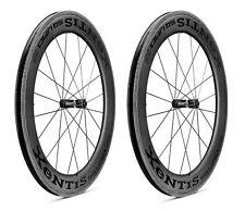 XeNTiS Squad SL 7.5 20/24 spokes Clincher Carbon Road Bicycle Wheel Set Black