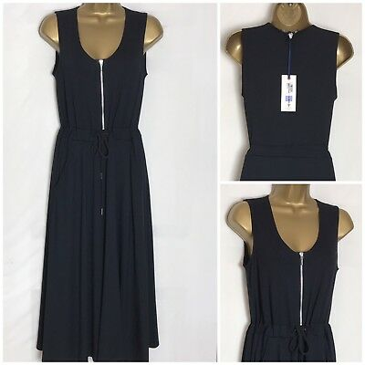 ms-293h M/&S Chambray Lyocell Midi Dress 3 Lengths Sizes 8-32
