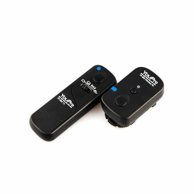 Qumox Shutter Release Timer Remote Control for Canon 1D 1Ds 5D Mark 2 Mark 3 II III 6D