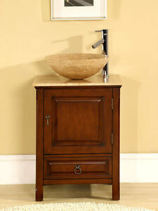 22-inch-Single-Stone-Sink-Travertine-Top-Cabinet-Bathroom-Vessel-Vanity-0158TR